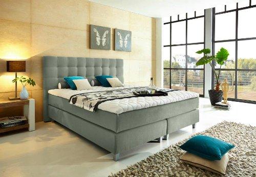 boxspringbett 180x200 cm g nstig kaufen. Black Bedroom Furniture Sets. Home Design Ideas