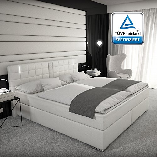 boxspringbett 180x200 cm g nstig kaufen. Black Bedroom Furniture Sets. Home Design Ideas