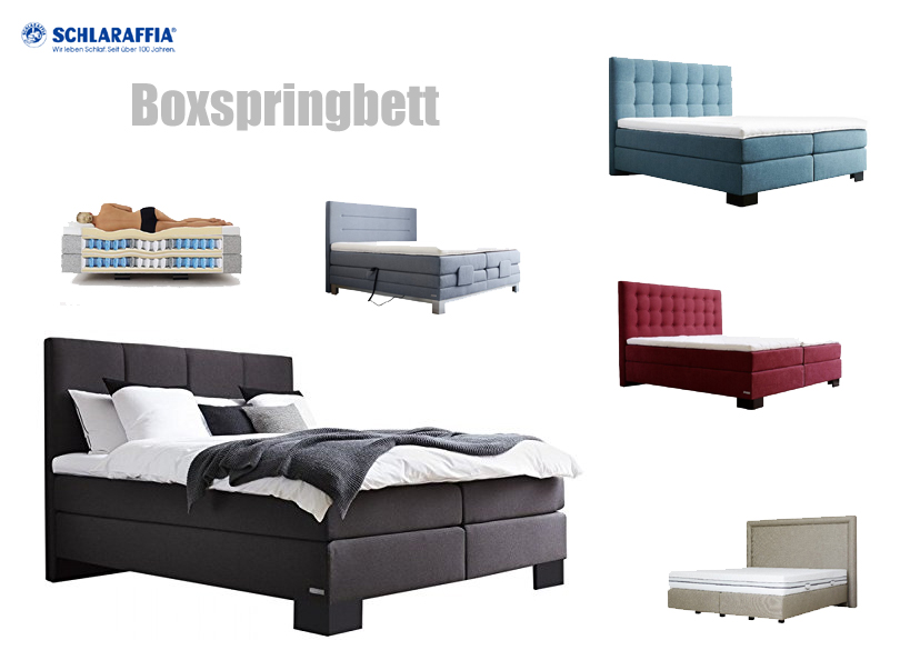 boxspringbett schlaraffia. Black Bedroom Furniture Sets. Home Design Ideas